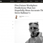 Forbes. Speaking about the future of the workplace